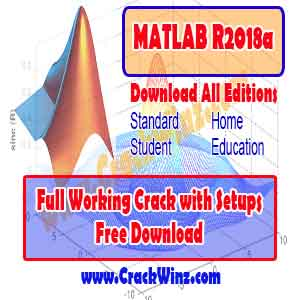 MATLAB Crack with All R2018a Full Editions