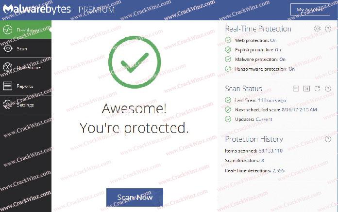 Malwarebytes Antimalware Keygen Screenshot