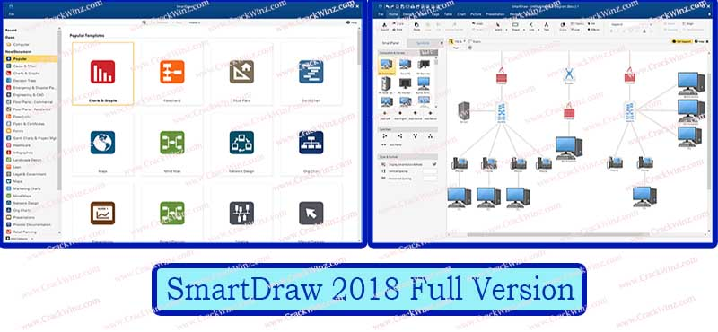 SmartDraw Crack Latest 2019 Full Version for Unlimited Users [Mac + PC]