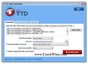 YTD Video Downloader Pro 5.10.0 Crack